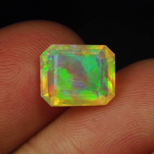 Multi-Color Fire! Fine Quality Welo Crystal Opal 3.92 ct GLI Litnon.com