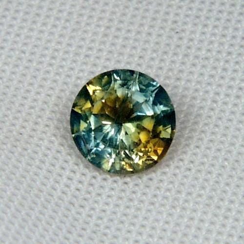 Unusual Bi Color Bright Montana Sapphire 1 89ct Gli Litnon