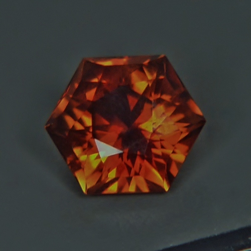 Color And Cut!  Precious Topaz Pakistan 8.16ct!  GLI Litnon.com