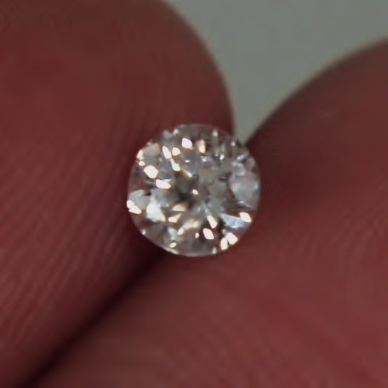Vintage! Pretty and Bright! Early Euro Cut Diamond GLI Litnon.com