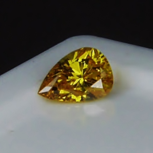 GIA Certified! Natural Fancy Vivid Orange - Yellow  Color Diamond!  GLI Litnon.com