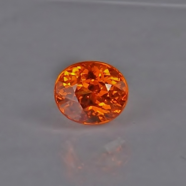 Color & Fire! Gem Orange Spessartite Garnet 2.06 ct GLI Litnon.com