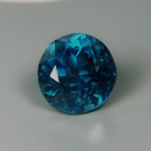 Big! Deep Blue Natural Zircon Cambodia 11.48 ct GLI Litnon.com