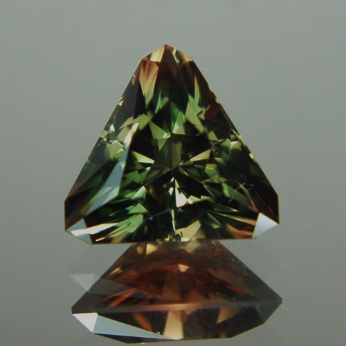 USA Cut! American Gemstone! Bi-Color Oregon Sunstone  9.35 ct GLI Litnon.com