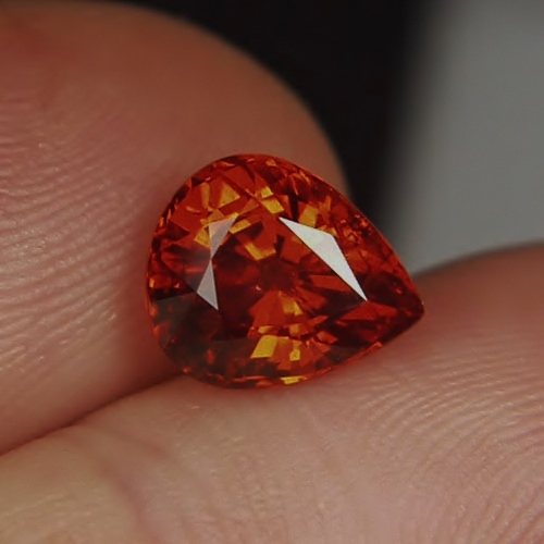 Classic Color! Natural Spessartite Garnet Nigeria 4.18ct GLI Litnon.com