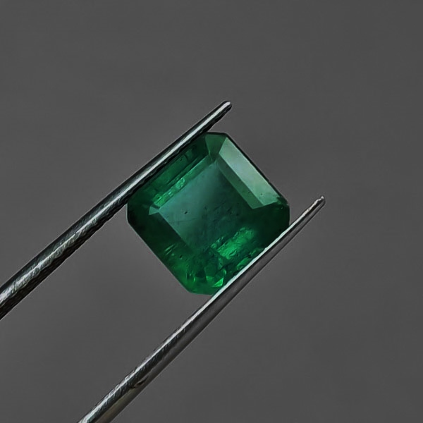 Fine Rich Color! Natural Zambian Emerald  2.10 ct GLI Litnon.com