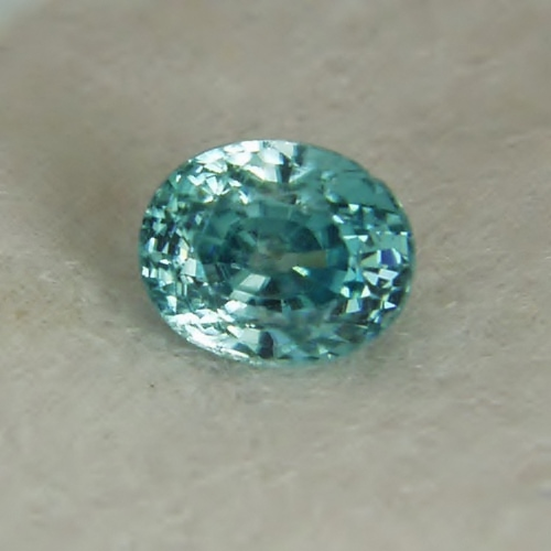 Bright & Pretty! Natural Blue Zircon Cambodia 3.88 ct GLI Litnon.com