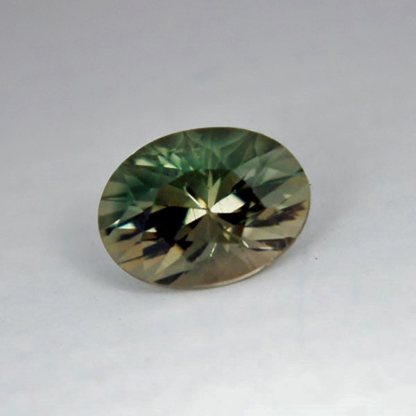 USA Cut! American Gemstone! Bi-Color Oregon Sunstone 2.40 ct GLI Litnon.com