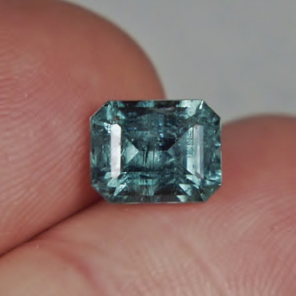 Included Natural Blue Tourmaline Afghanistan 2.20 ct  GLI Litnon.com