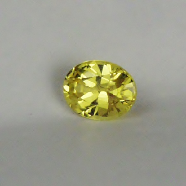 $55.00! Quality Color & Cut!! Bright Yellow Montana Sapphire GLI Litnon.com