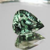 Color! Bright Green Tourmaline Afghanistan 3.96 ct GLI