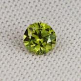 Brilliant! Top Cutting! Natural Russian Demantoid Garnet GL!