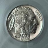 1938-D Buffalo PCGS MS65 5 Cent Coin 3984.65 GLI