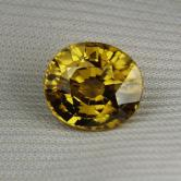 Big & Bright! Natural Unheated Yellow Zircon Sri Lanka 9.42ct GLI